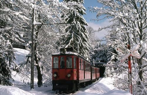 フリー写真素材, 乗り物, 電車・列車, 雪, スイス,
