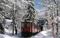 [フリー画像] 乗り物, 電車・列車, 雪, スイス, 201012272300