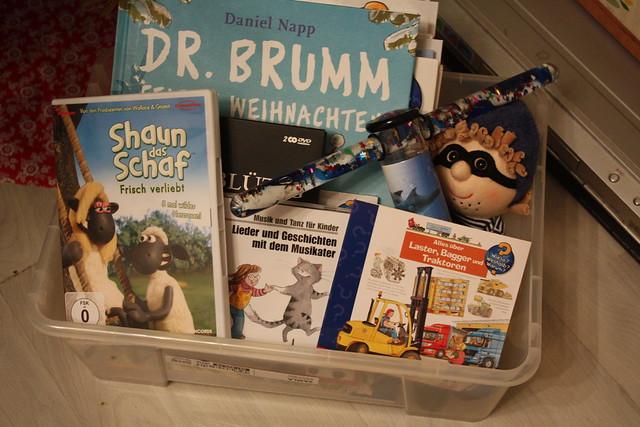 Bücher, CD´s und DVDs