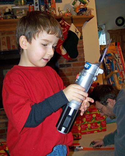 Christmas Day 2 - saber