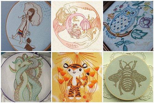 My favourite embroidery patterns of 2010