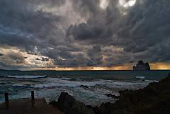 Winter (Tati@) Tags: winter light sea sky beach clouds landscape sardinia natura tati nebida masua pandizucchero annatatti bestcapturesaoi elitegalleryaoi