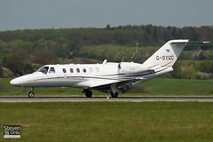 G-SYGC - 525A-0360 - Synergy Aviation Ltd - Cessna 525A Citation CJ2 - Luton - 100427 - Steven Gray - IMG_0449