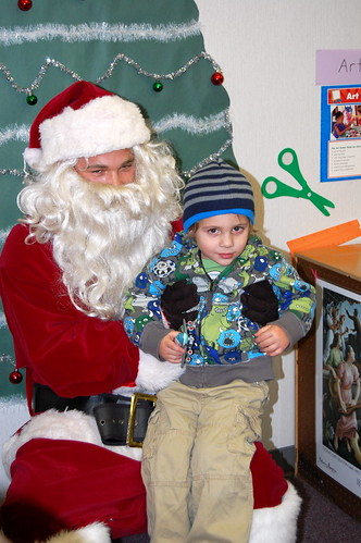 Clark and Santa
