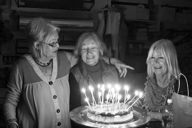Birthday in Black and White