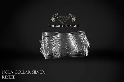 nola collar silver