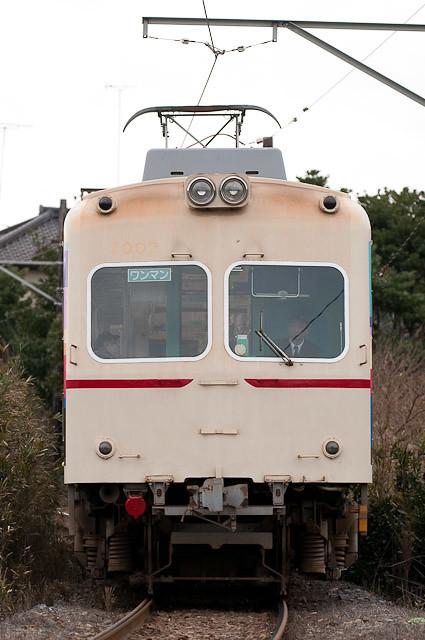 銚子電鉄 2000形 2002F 塗装変更