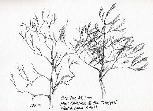 12-28-10, Scruffy Trees 1