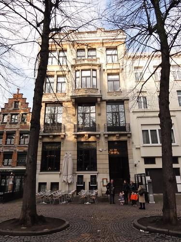 Restaurant in Antwerp where we had lunch