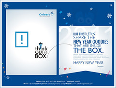 New Year Greetings.....!!! (Celeste Experience) Tags: wallpaper ink paper advertising amazing graphics creative concept creatives career celeste logic designing pantones