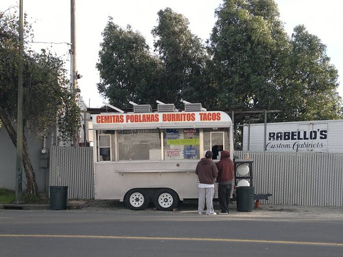 The Puerto Escondido Taco Truck in San Jose