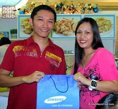 Joy Ramos, Samsung Microwave Oven Winner