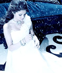 Winter Wonderland (☂ a year without rain ♥) Tags: blue snow marie effects photoshoot prom selena gomez edit seventeen