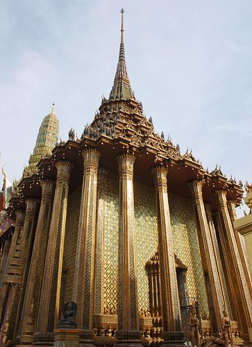 Temple of the Emerald Buddha, Bangkok, day 57