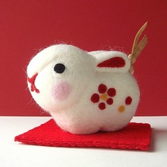 Year of the Rabbit (feltmates!) Tags: rabbit hare yearoftherabbit yearofthehare feltmates