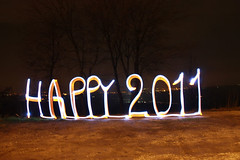 happy 2011 (garagolo) Tags: light lightpainting colors night graffiti artwork nightimages arte kunst experiment lightgraffiti notte artworks happynewyear 2010 lightart 2011 longexposition esposizionelunga lightgraff canoneos450d williamvecchietti yapwilli signesdelumiere