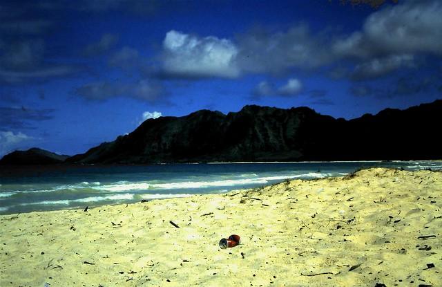 Oahu beach, 1984