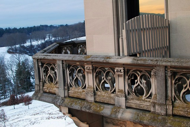 balcony at the biltmore