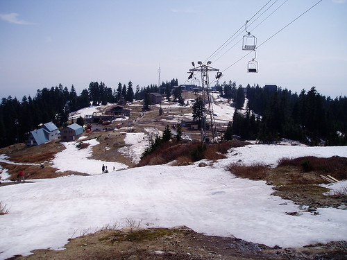 Grouse mountain in Vancouver