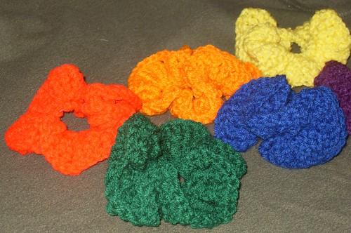 rainbow scrunchies (14)