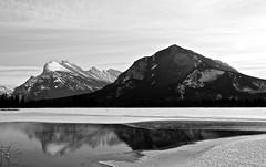 Rundle Mountain Banff (J dub photographic) Tags: winter snow canada fall water flickr johnson ab canyon alberta banff 2011 jdubphotographic
