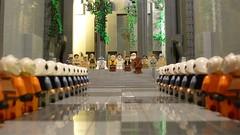 Yavin 4's Massassi Temple (Legoagogo) Tags: temple starwars lego r2d2 lukeskywalker c3po hansolo yavin moc cewbacca
