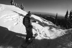 Comin' Home2 (TwistedRidge) Tags: snow canada art vancouver fun canon20d powder cliffs cameras backcountry mtseymour turns mtbaker bombdrop cliffdrop