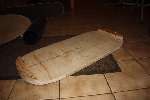 Homemade balance board 1