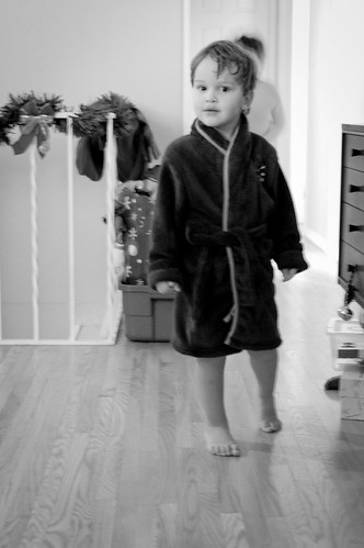 11:365 Bathrobe boy