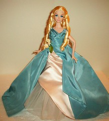 Grand  Debut (napudollworld) Tags: winter sleeping holiday beauty wearing fashion french frost king alice entrance barbie grand disney kong quarter carter gown bryant 2009 royalty mattel