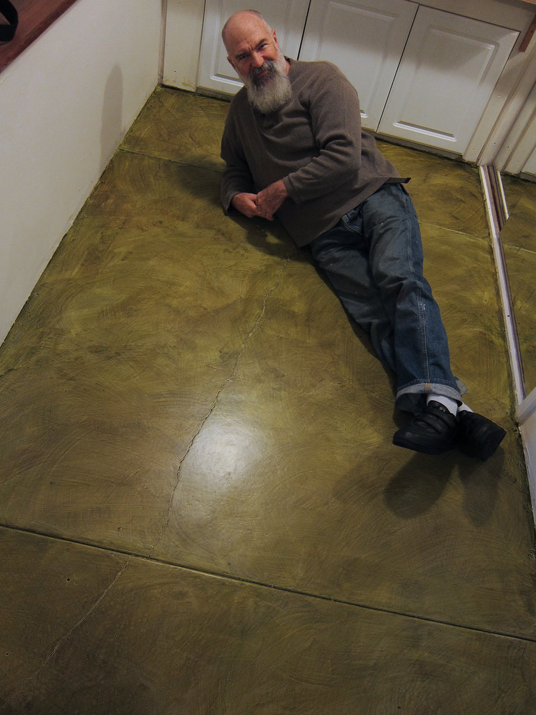 Sanding Concrete Floors Sanding Concrete 3 Arm Floor Lamp