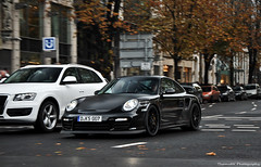 Porsche 997 GT2 RS (ThomvdN) Tags: germany photography automotive porsche thom dsseldorf rs gt2 carphotography 997 kningsallee thomvdn