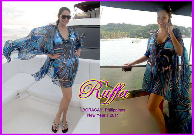 Ruffa Gutierrez Boracay New Year's 2011 by MsRuffa
