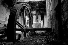 La Corderia (1) (AlexLiverani) Tags: old white black abandoned alex wheel workers factory decay farm machine guerra gear rope equipment e aged walls bianco macchina nero abandonment hdr obsolete ruined outdated ruota muri postwar faenza decadent stabilimento decadente vecchi fabbrica abbandono dopo azienda professionista operai abbandonata macerie ingranaggi macchinari corderia rovinati liverani attrezzature decadenti invecchiati obsoleti fotoggrafo superati