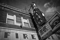Fireside (dgiunta) Tags: sign outdoors bowlingalley façade faade firesidebowlchicago