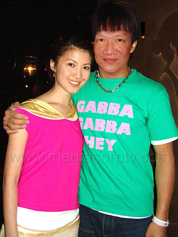 Jonal Chong with Jeanette Aw