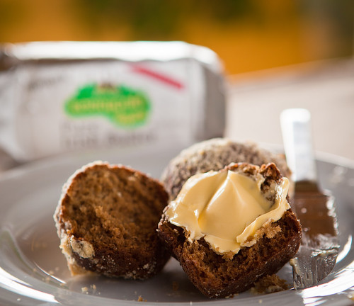 Muffin with Kerrygold 