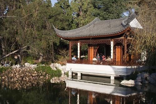 Chinese Garden in Huntington Garden, San Marino, California