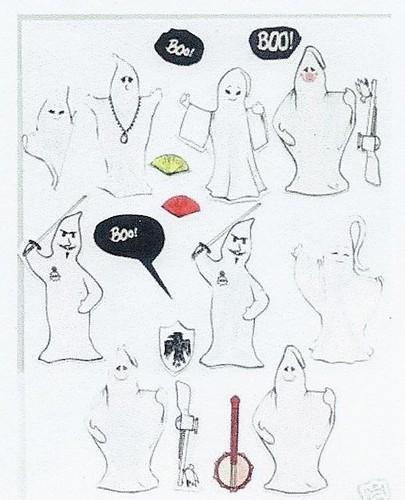 Kooky Spooky prototypes