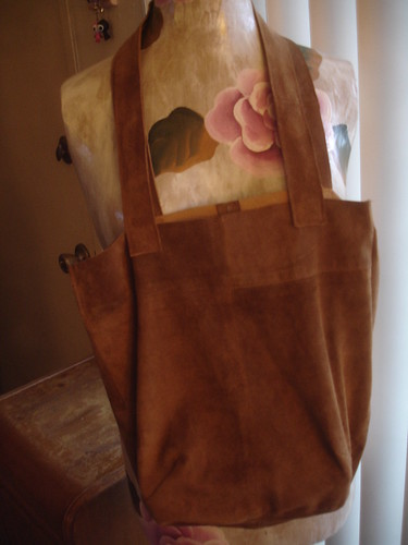 After - Suede Bag