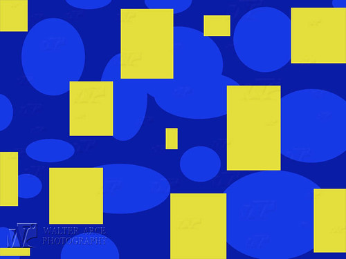 Blue Yellow Background