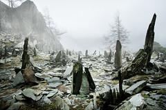 Castle Crag (gms) Tags: england weird mine lakedistrict eerie cumbria slate lakeland quarry grange slates castlecrag rosthwaite