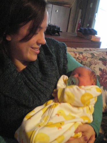 Aunt Jessie visits