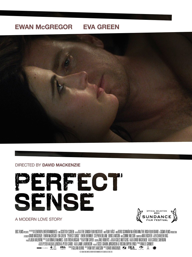 poster film Perfect Sense with Ewan McGregor and Eva Green