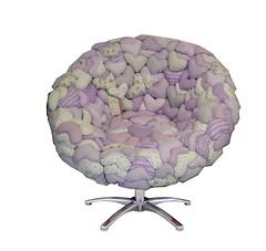 Poltrona da lilas (Arte coisa & tal.. By Simone Ribeiro) Tags: coraes customizados