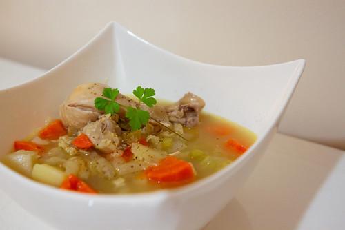 classic jewish chicken soup