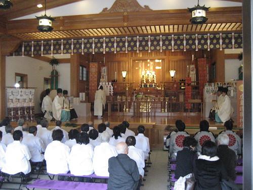 とんど 広島護国神社 2011画像 25