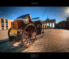 Yo! Taxi! (HDR) (farbspiel) Tags: blue red orange colour berlin history tourism colors sunshine yellow photoshop germany logo geotagged photography nikon colorful colours carriage taxi wideangle brandenburggate bluesky historic handheld colourful brandenburgertor dri deu hdr highdynamicrange watermark hdri pariserplatz superwideangle horsedrawncarriage horsecarriage niceweather 10mm postprocessing dynamicrangeincrease ultrawideangle d90 photomatix wasserzeichen tonemapped tonemapping horsetaxi watermarking detailenhancer topazadjust topazdenoise klausherrmann topazsoftware sigma1020mmf35exdchsm topazphotoshopbundle topazinfocus geo:lat=5251646080 geo:lon=1337877274
