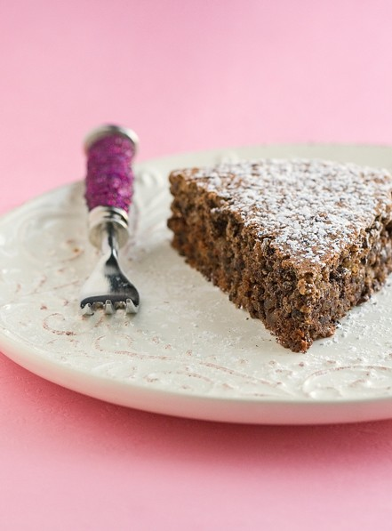 Chocolate Walnut Cake by Pellegrino Artusi