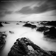 When the light goes out vii (warna_alam) Tags: light sun beach rock photography back amazing long exposure slow air laut malaysia shutter azizi past batu pantai terengganu iman matahari ombak izz besut cendering pandak warnaiman fotorafi